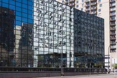Minneapolis glassy windows reflections Royalty Free Stock Image