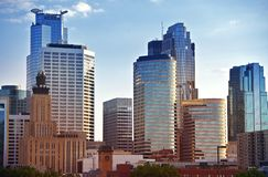 Minneapolis horisont Royaltyfria Foton