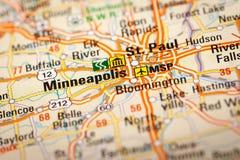 Minneapolis, los E.E.U.U. imagen de archivo
