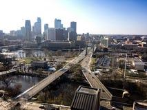 Minneapolis Minnesota royalty-vrije stock foto