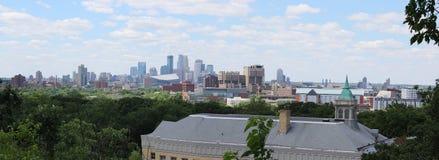 Minneapolis, Minnestoa linia horyzontu Obraz Royalty Free