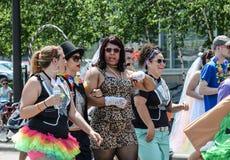 Minneapolis, Mn, LGBT Pride Parade 2013 royalty-vrije stock fotografie