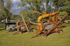 Minneapolis Moline kukurudzy sheller zdjęcie royalty free