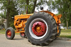 Minneapolis Moline tractor parked on a street Stock Photo