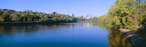 Minneapolis river Royalty Free Stock Photography