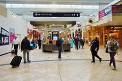 The Minneapolis-Saint Paul International Airport (MSP) Stock Photography