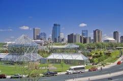 Minneapolis-Skulptur-Garten und John Cowles Conservatory, Minneapolis, Mangan stockbild