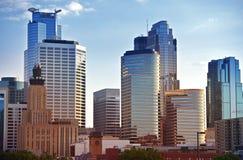 Minneapolis-Skyline Lizenzfreie Stockfotos