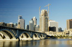 Minneapolis skyline 6 Stock Photos