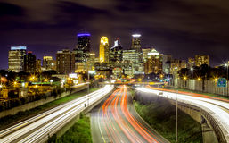 Minneapolis Skyline Royalty Free Stock Images