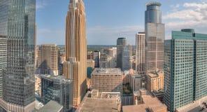 Minneapolis Skyline in Minnesota, USA. Minneapolis Area Skyline in Minnesota, USA during Summer Time Ect royalty free stock images