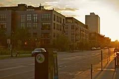 Minneapolis Streets Royalty Free Stock Photo