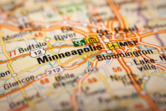 Minneapolis, USA Royalty Free Stock Photos