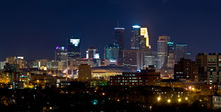 Minneapolis Wschód Minnestoa Zdjęcia Stock
