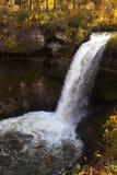 водопад minnehaha Стоковое Фото