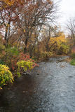 Minnehaha Creek In Autumn. This is the Minnehaha Park in Minneapolis, Minnesota Royalty Free Stock Photo