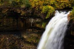 Minnehaha Fall in Autumn. Minnehaha Fall in Minnesota Autumn Royalty Free Stock Photo