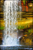 Minnehaha Falls. In Minneapolis, MN royalty free stock images