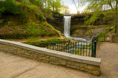 Minnehaha Falls Royalty Free Stock Images