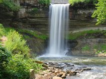Minnehaha Falls, Minneapolis Royalty Free Stock Images