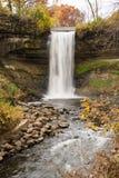 Minnehaha Falls. This is the Minnehaha Falls in Minneapolis, Minnesota Royalty Free Stock Image