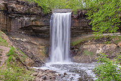 Minnehaha Falls in Minneapolis Minnesota Royalty Free Stock Image