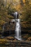 Minnehaha Falls in northern Georgia royalty free stock photos