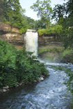 Minnehaha Falls on a summer morning Stock Images