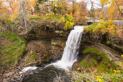 Minnehaha Falls View Royalty Free Stock Photo