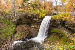 Minnehaha Falls View Royalty Free Stock Photo