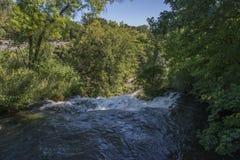 Minnehaha vattenfall i Minneapolis Royaltyfri Foto