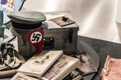 Minnen av WWII royaltyfri foto