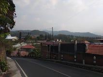 Minnen från överkant av staden arkivfoton