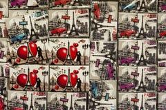 Minnen från Paris Arkivbilder