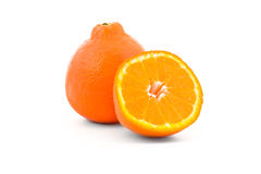 Minneola tangelo orange Stock Images