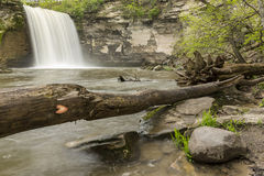 Minneopa Lower Falls Royalty Free Stock Photography