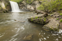 Minneopa Lower Falls Royalty Free Stock Photos