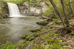 Minneopa Lower Falls Royalty Free Stock Photo