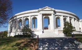 Minnes- Amphitheater Arlington VA Royaltyfri Foto