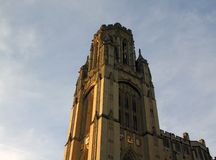 Minnes- byggnad för Wills, Bristol, Förenade kungariket arkivbild