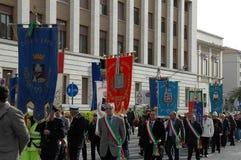 Minnes- ceremoni som firar minnet av den Moby princen Arkivfoto