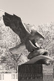 Minnes- Eagle Royaltyfri Foto