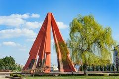 Minnes- evighet Chisinau, Moldavien royaltyfria foton