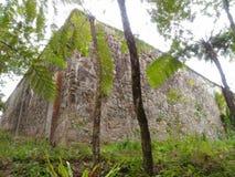 Minnes- krigtorn Ranau Kundasang Sabah Arkivbild