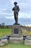 Minnes- monument, Gettysburg, PA Arkivfoton