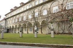 Minnes- monument i Graz Arkivbilder