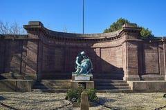 Minnes- monument som är hängiven till vem dog i Greatskrigen Royaltyfria Bilder