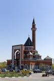 Minnes- moské på Poklonnaya Gora - April, 27, 2014. Constructe Royaltyfri Bild