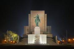 minnes- nationell prague vitkov Arkivfoton