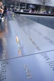 9/11 minnes- New York Arkivfoton